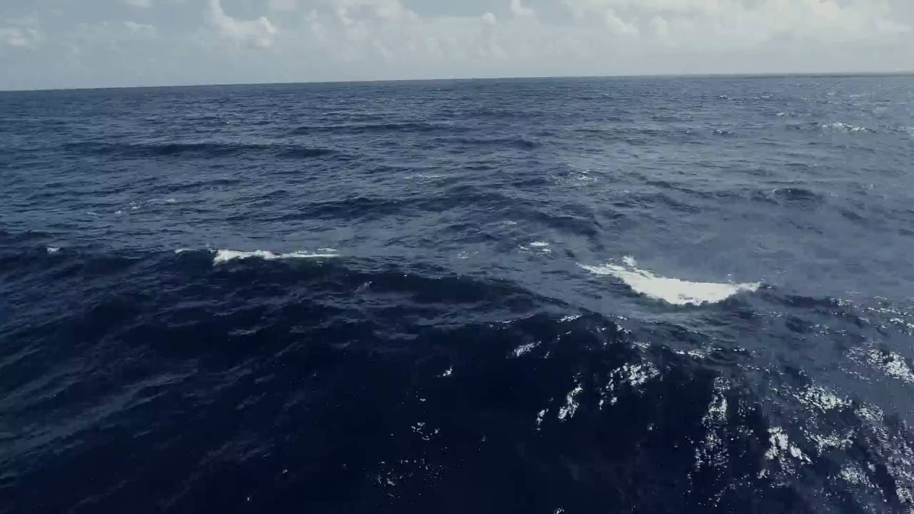 Dark blue Ocean waves - Free 4K Footage - YouTube