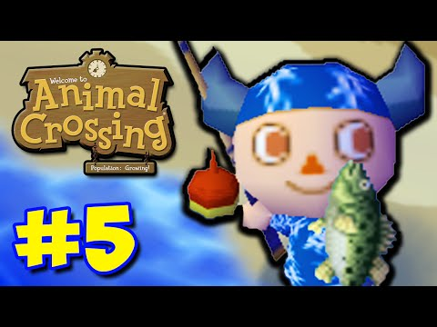 FISHING TOURNEY! - Animal Crossing GCN (Part 5)