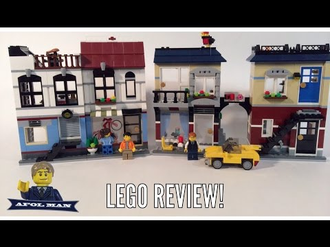 LEGO Creator 31026 Bike Shop & Cafe Review!