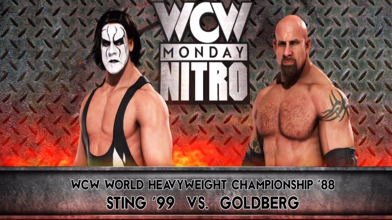Download WWE 2K20 Sting Vs Goldberg WCW World Heavyweight Championship - Monday Night Nitro
