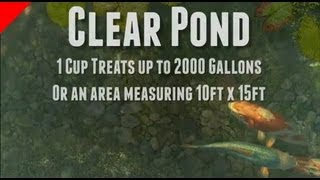 Clear Pond Koi Pond Cleaner Granuals - Clear Water