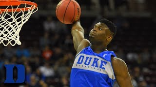 Zion Williamson Happy To Be Playing Back Home