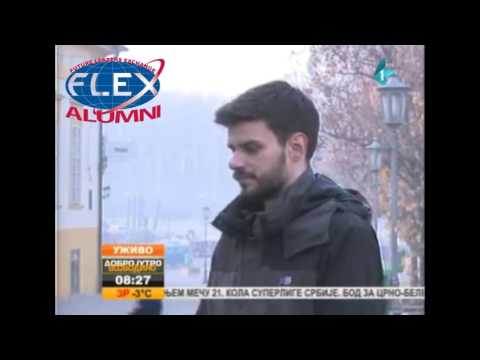 FLEX Serbia Alumnus, Marko Vignjevic, on Radio Television of Vojvodina