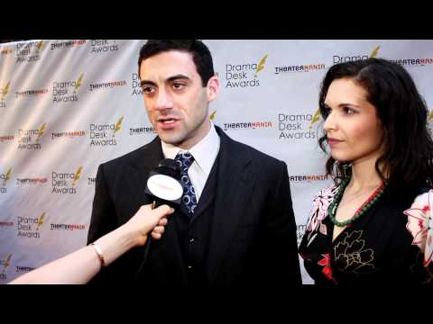 Morgan Spector Interview on the Drama Desk Awards 2012 Red Carpet