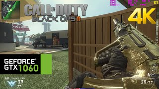 GTX 1060 | Call of Duty: Black Ops 2 / 4K Ultra HD