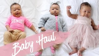 Baby Outfits Try-On Haul | 2 Month Old