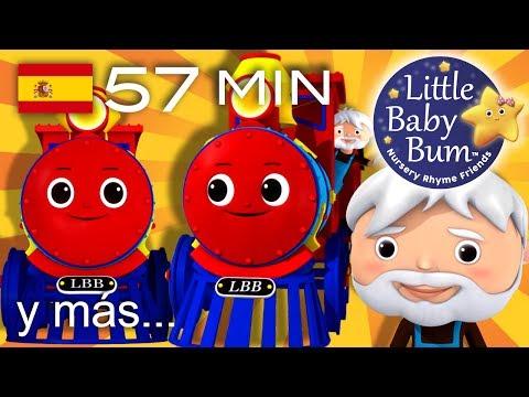 La canción del tren | Y muchas más canciones infantiles | ¡LittleBabyBum!
