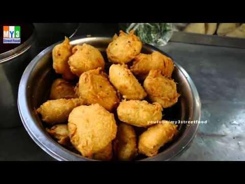 Bajji & Masala Chat STREET FOOD IN MUMBAI  | Marine Drive | 4K VIDEO Street Food