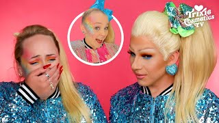 Transforming into Jojo Siwa with Brittany Broski