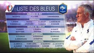 Liste des 23 de l'équipe de France pour la Coupe du Monde 2018
