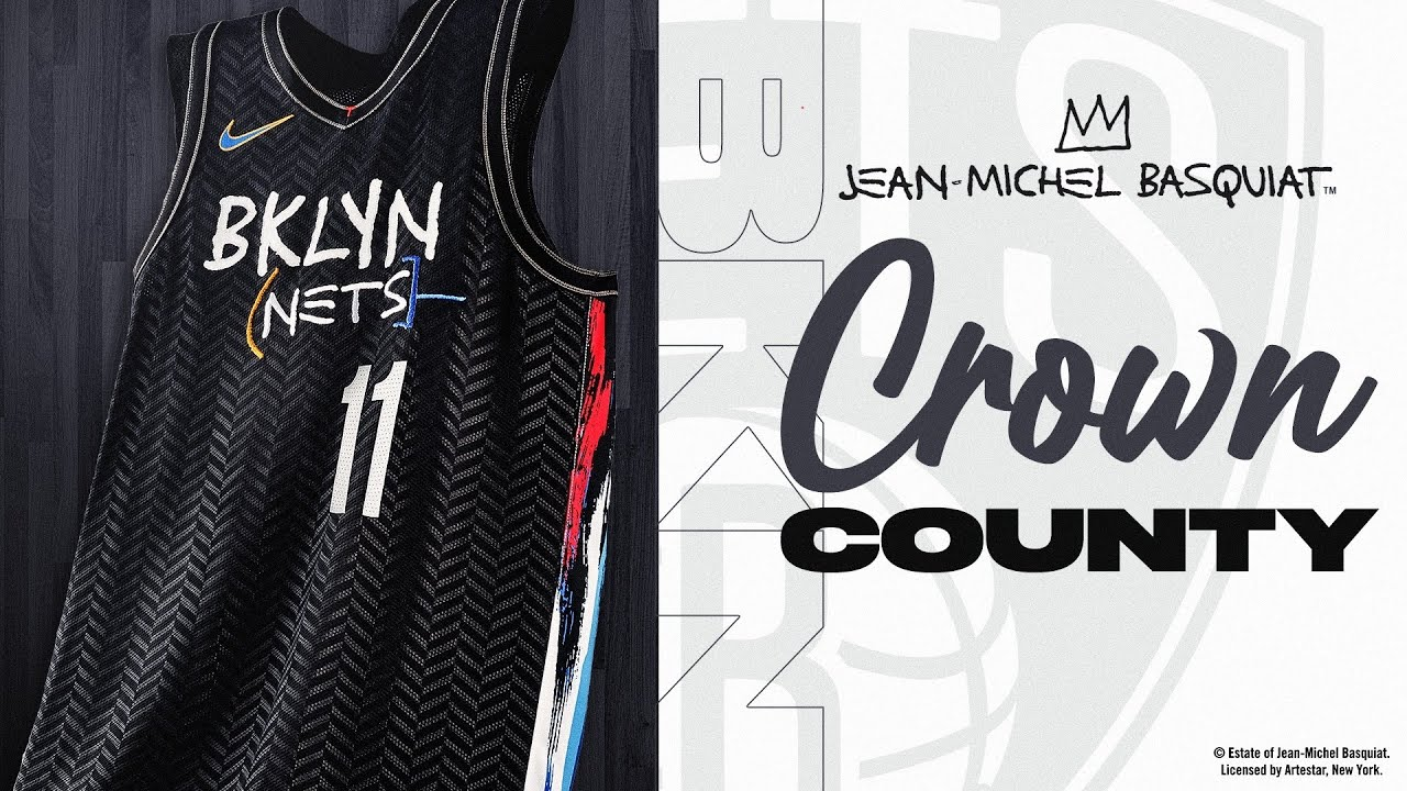 I Bought The Brooklyn Nets City Edition Basquiat Jersey Youtube