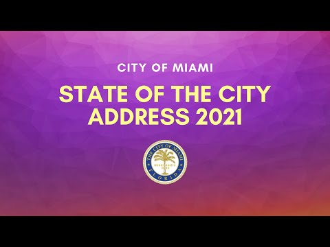 State Of The City Address 2021