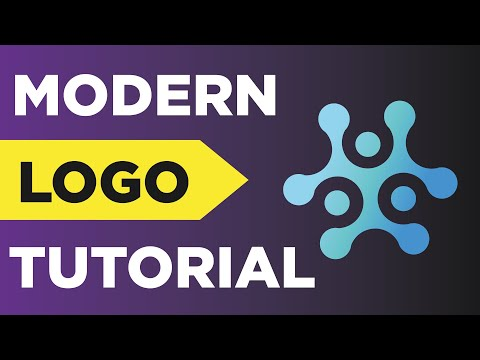 How To Design A Modern Logo In Adobe Illustrator 2019 ✏