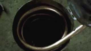 Rocket stove Hot Tub