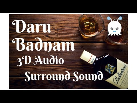 Daru Badnam  Param Singh  Surround Sound  3D Audio  Use Headphones 👾