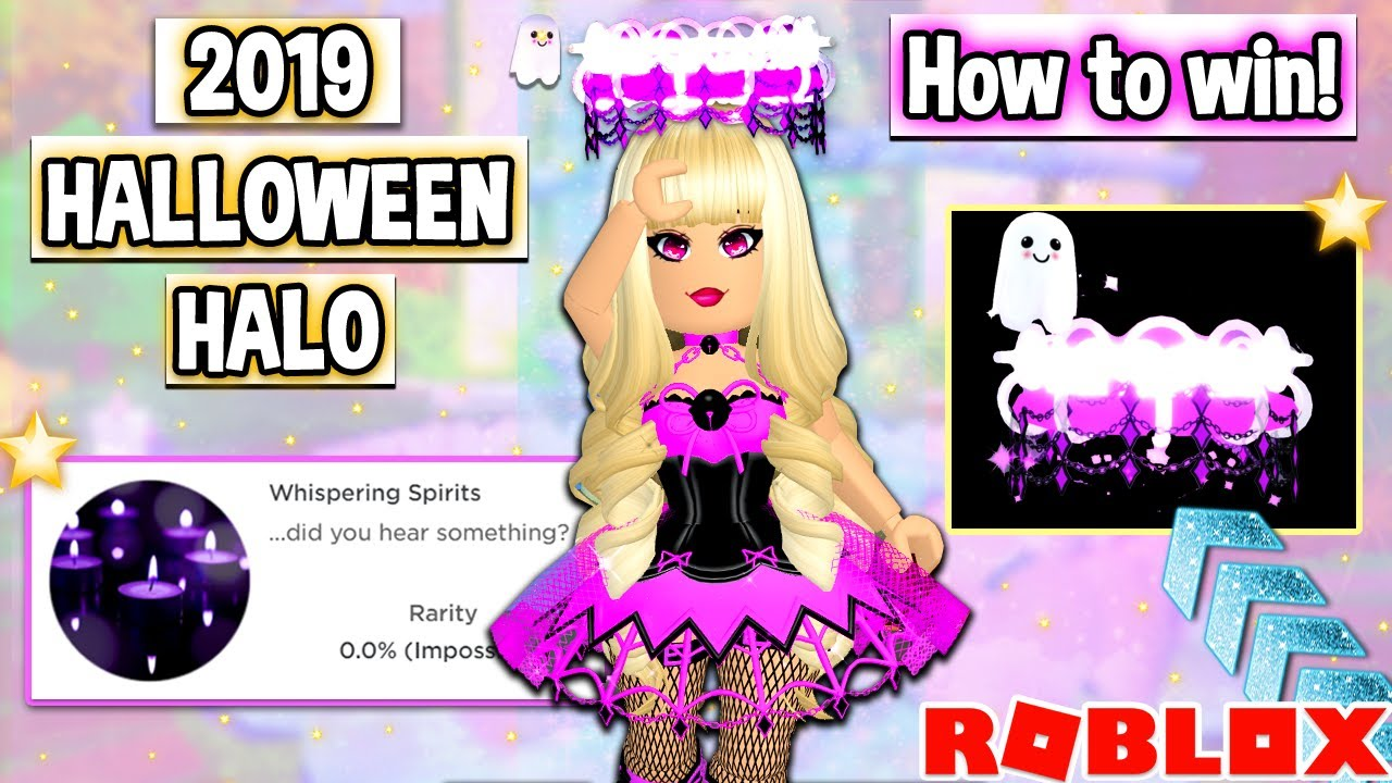 Most Popular Halloween Costumes 2020 On Royale High How To Win The BRAND NEW 2019 HALLOWEEN HALO In Royale High