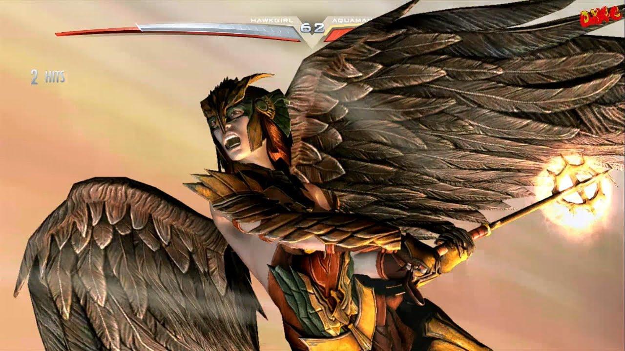 Girl Boss Wallpaper Injustice Gods Among Us Hawkgirl Arcade Ladder Playthrough