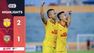 Highlights   DNH Nam Định 2-1 Hồng Lĩnh Hà Tĩnh   3 điểm đầu tay đầy xứng đáng   VPF Media