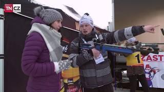 Fandění na světovém poháru v biatlonu