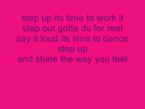 the cheetah girlsstep up with lyrics