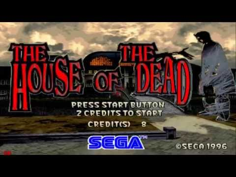 THE HOUSE OF THE DEAD 1 - ARCADE GAMEPLAY - 1080p  SEGA MODEL 2 PC CLASSIC 1997-2017