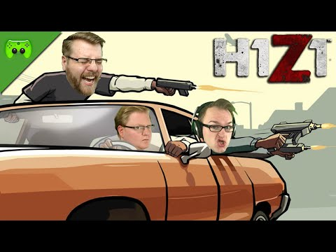 DRIVE BY SHOOTING 🎮 H1Z1 Battle Royale #18