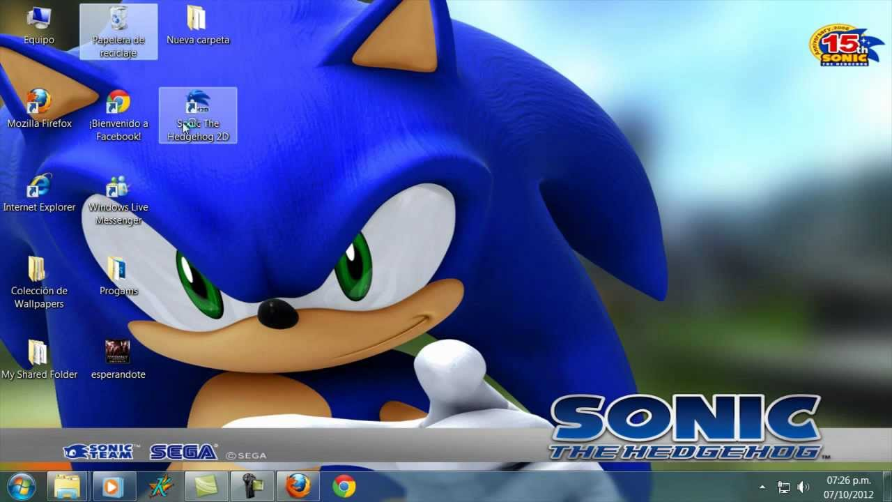 sonic the hedgehog 2d for mac
