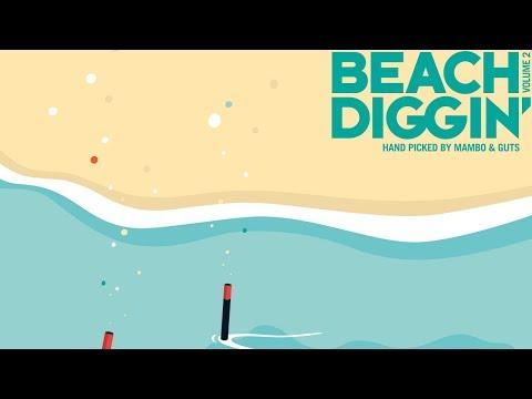 DJ Damage -  Beach Diggin' 2 Mix (Continuous Mix)  (GUTS & MAMBO - Beach Diggin' vol.2)