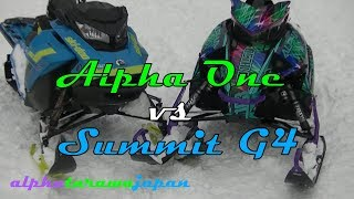 Alpha One on-snow review: Better than a Summit G4?