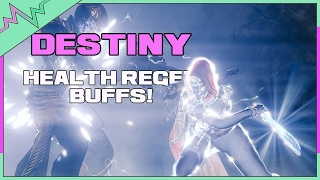 Hungering Blade REBUFFED!? | Health Regen Changes Coming Soon | Destiny Rise of Iron