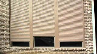 Security Shutters Dallas For Home House Motorized Rolling Metal Shutters