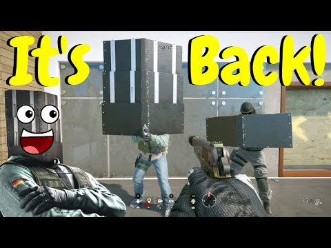 Shield Glitch Is Back In Rainbow Six Siege