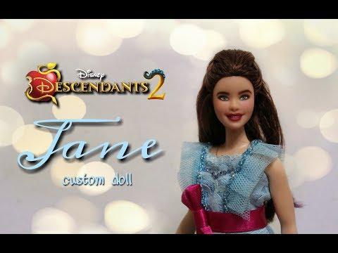 How To: Disney Descendants 2 - Jane CUSTOM DOLL (DIY Tutorial)