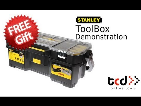 Stanley Toolbox + Tote Tray Organiser - XMS12TOOLBOX