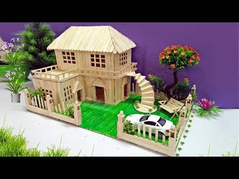 Popsicle House building - Popsicle Garden Villa - Dreamhouse Architecture