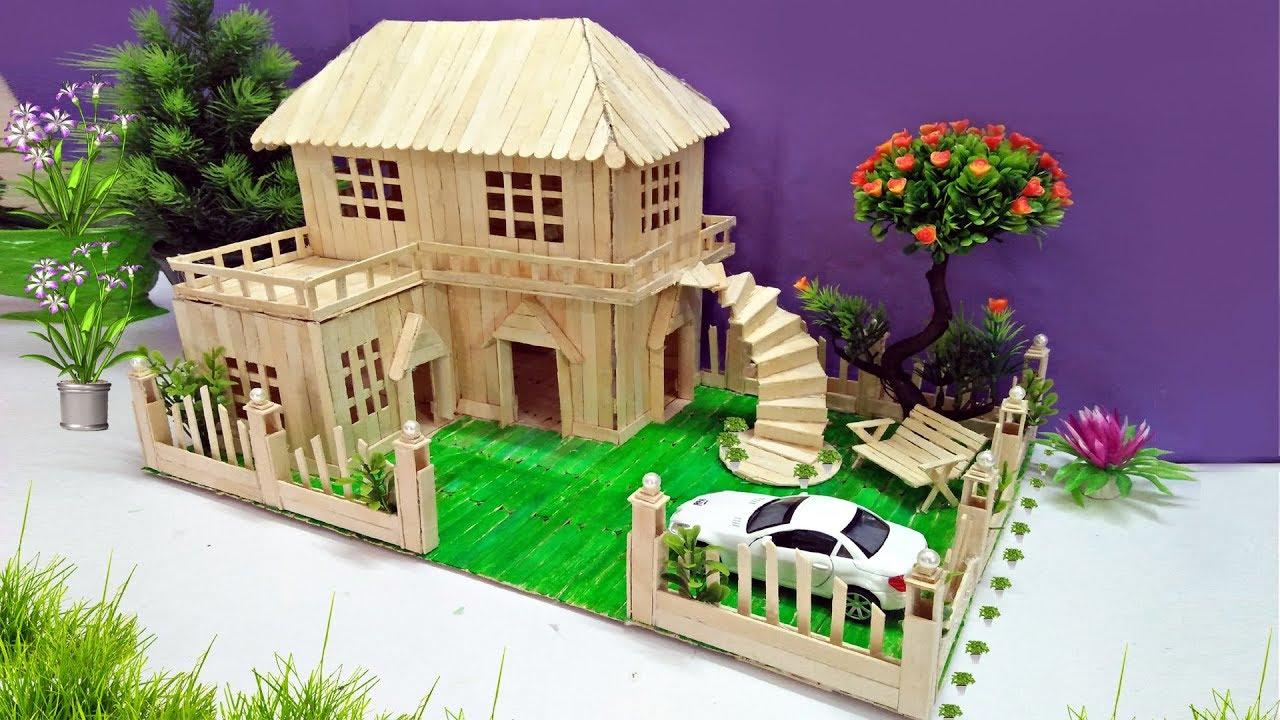 Popsicle House Building   Popsicle Garden Villa   Dreamhouse Architecture