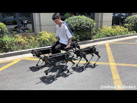 Китайские роботы такие же сильные, как ездовые собаки