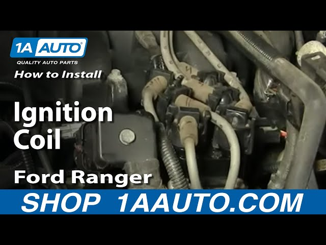 [CSDW_4250]   How to Replace Ignition Coil Pack 90-11 Ford Ranger | 1A Auto | Ford Mercury Coil Wiring |  | 1A Auto