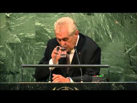 Miloš Zeman (Czech Republic ) General Debate of the 70th Session UN 29.09.2015