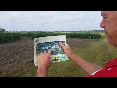 Georama - World's Largest Corn Maze Richardson Farm