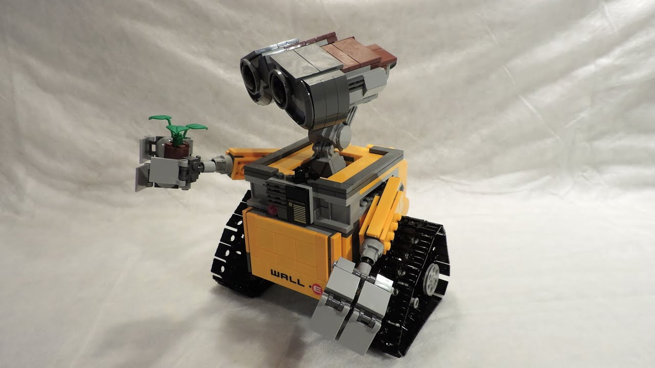 m4x's creations - building lego ideas 21303 wall-e (with official