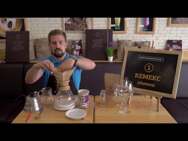 34. Кемекс кофе - рецепт и калькуляция кофе. Как приготовить кофе альтернативным способом.