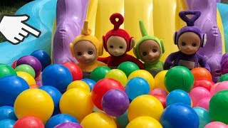 Learn colours and have fun with Teletubbies,