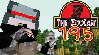 Minecraft Jurassic World (Jurassic Park) ZooCast - #195 The Story Of Evil Lewbot