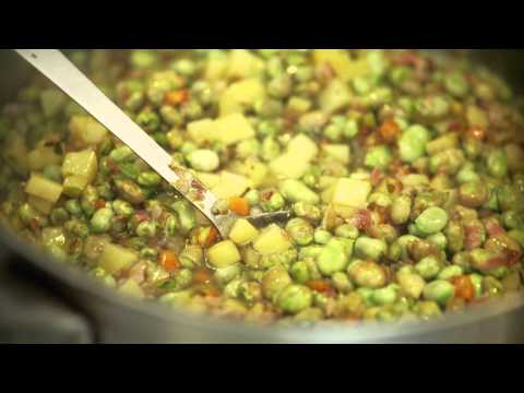 Recipe: Broad Bean And Pancetta Soup