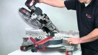 Bosch Gcm12gdl Glide Mitre Saw