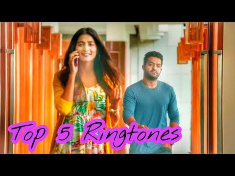 Top 5 Bgm Ringtones Of Aravindha Sametha || Thaman S || Jr.NTR || Pooja Hegde