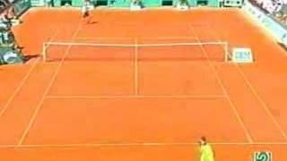 Rafa Nadal y la mejor jugada de tenis de la historia.
