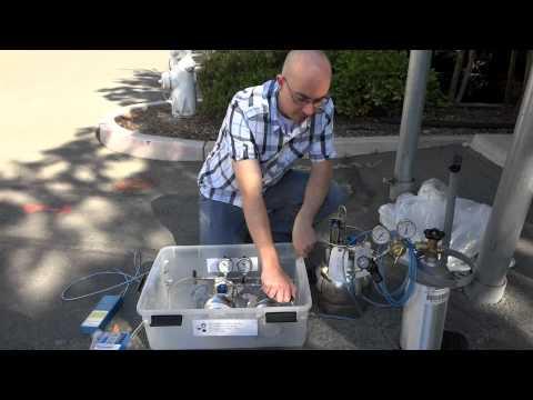 Helium Shroud Demonstration Video