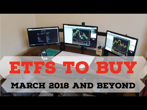 ETFs TO BUY IN MARCH 2018 AND BEYOND: Passive income using SPDR and Vanguard ETFs on Robinhood
